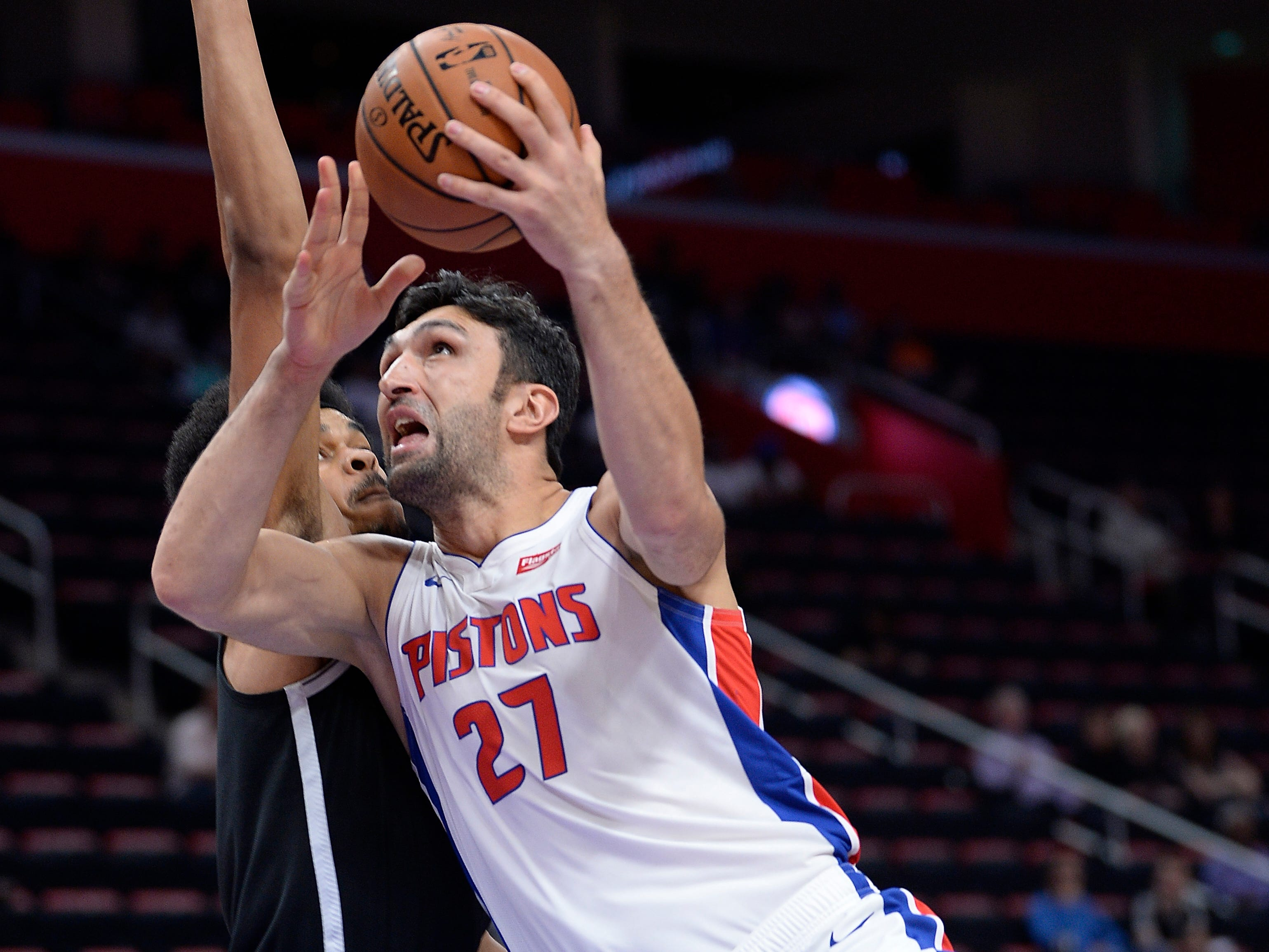 Zaza Pachulia -- Stats: 4.4 pts, 4.4 rebs in 32 games. Age: 34. The veteran has provided a good influence in the locker room as a leader and has been a nice backup option behind Drummond. Casey lauds his screens and his mid-range jump shot helps him to extend the defense. Grade: C