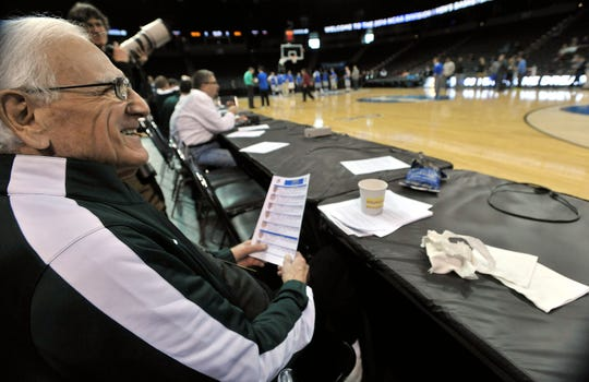 Gus Ganakas, former Michigan State basketball coach, died at age 92.