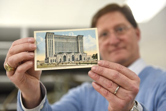 Ted Ryan, Heritage Label Supervisor, Ford Archives, holds a postcard from 1916 in Dearborn on Friday January Eleven, 2019 which is curious to be phase of a uncover at the Michigan Central Prepare Station. Ryan, displayed many gadgets in Ford Archives in Dearborn which is curious to be displayed at the Michigan Central Station's Iciness Festival on January 18-27th.