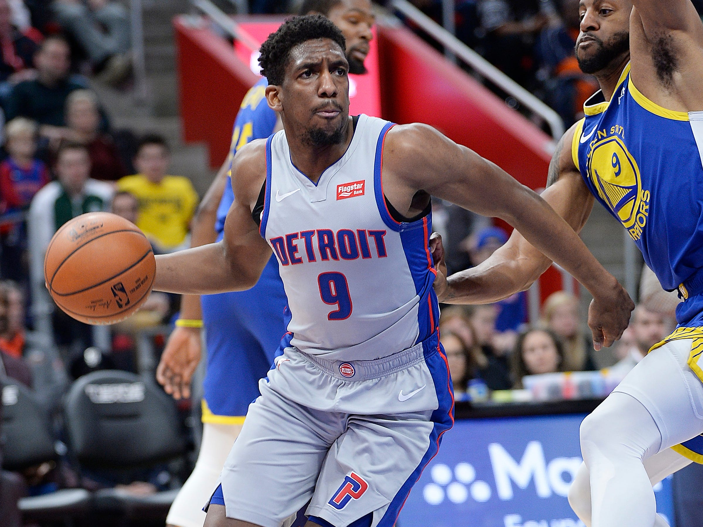 Langston Galloway -- Stats: 8.5 pts., 2.4 rebs., 35% 3FG in 40 games. Age: 27. He was mired on the bench for most of last season, but found a new role in the rotation under Casey. It's been an up-and-down first half of the season, as his shot has come and gone, but he's played hard in almost every game. Grade: C+