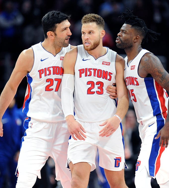 Go through the gallery as Rod Beard of The Detroit News hands out midseason grades for the 2018-19 Detroit Pistons.