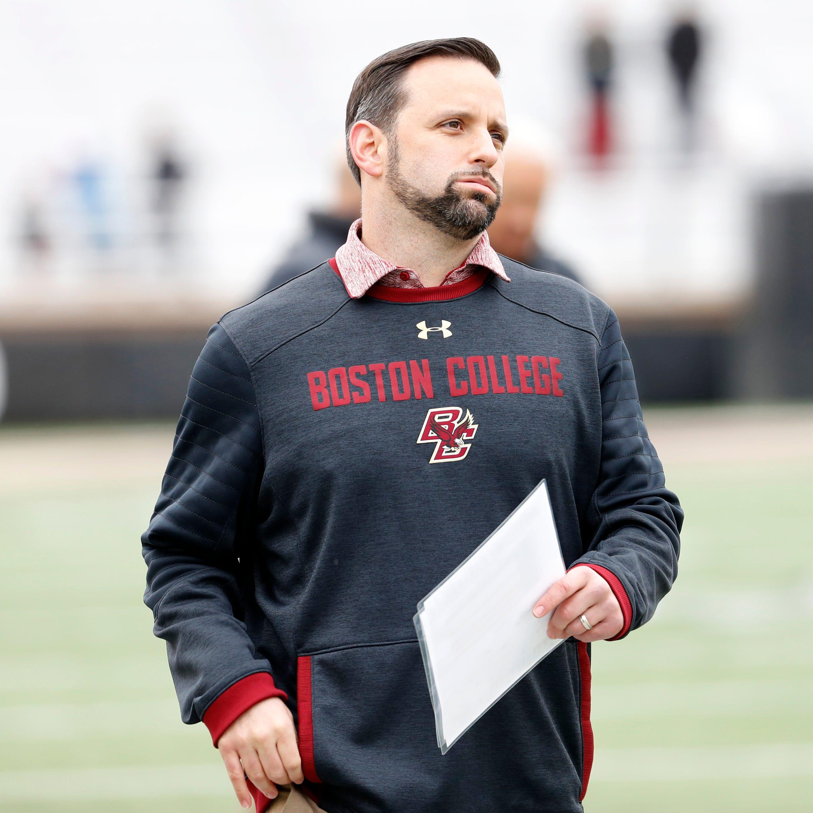 Michigan adds Boston College's Anthony Campanile to defensive staff