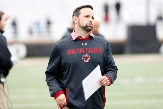 Michigan reportedly has added Boston College assistant coach Anthony Campanile to its defensive staff.