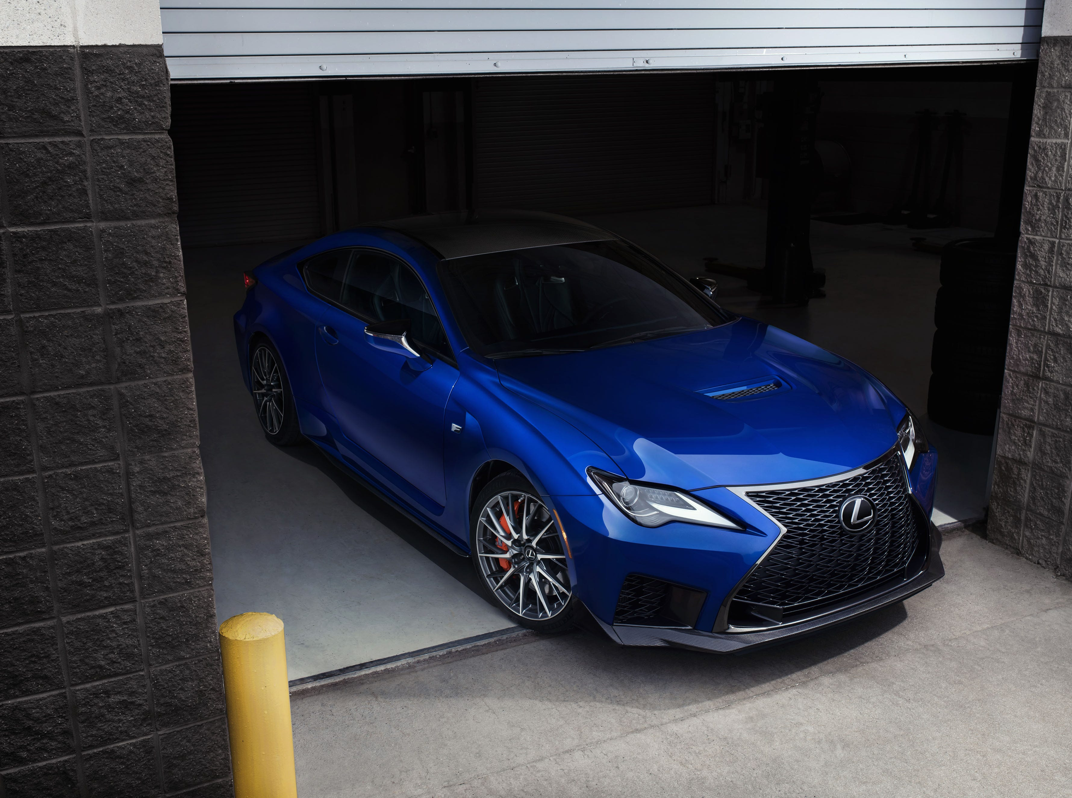 """""""The RC F's engine is rated at 472 horsepower and 395 pound feet of torque."""""""