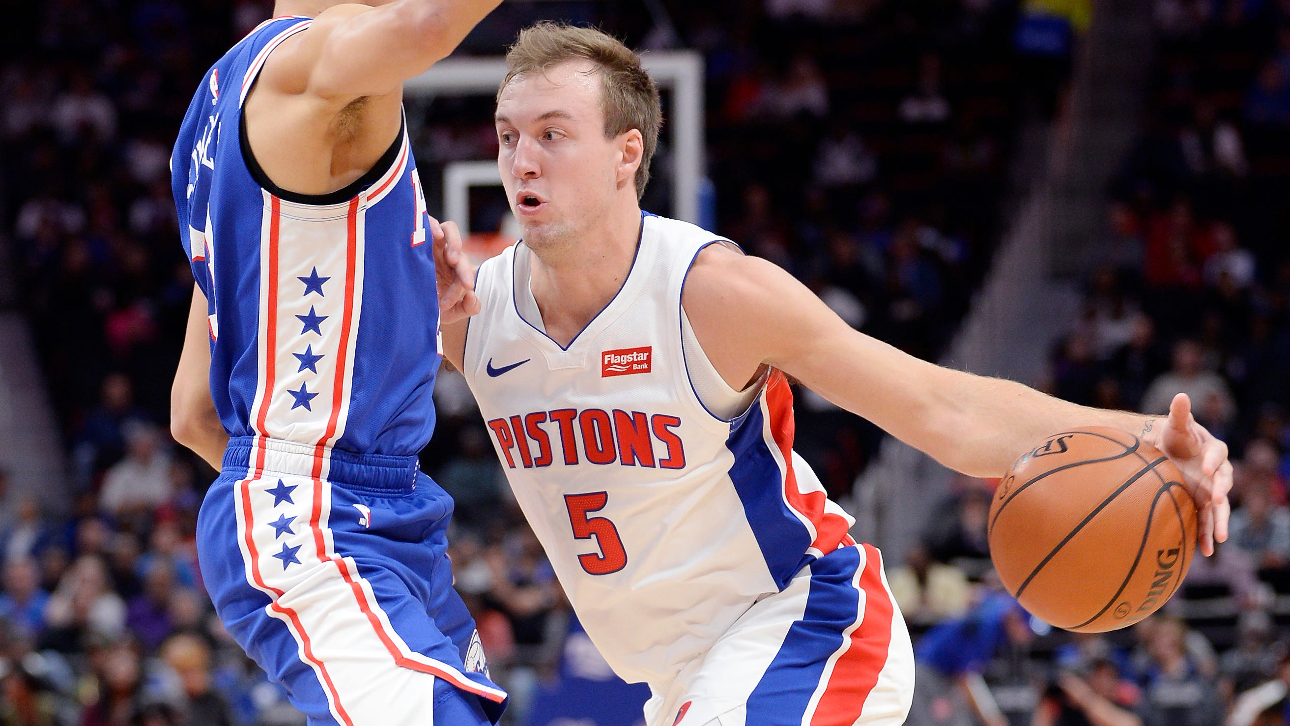 Kennard's non-starting role with Pistons doesn't mean Casey isn't impressed