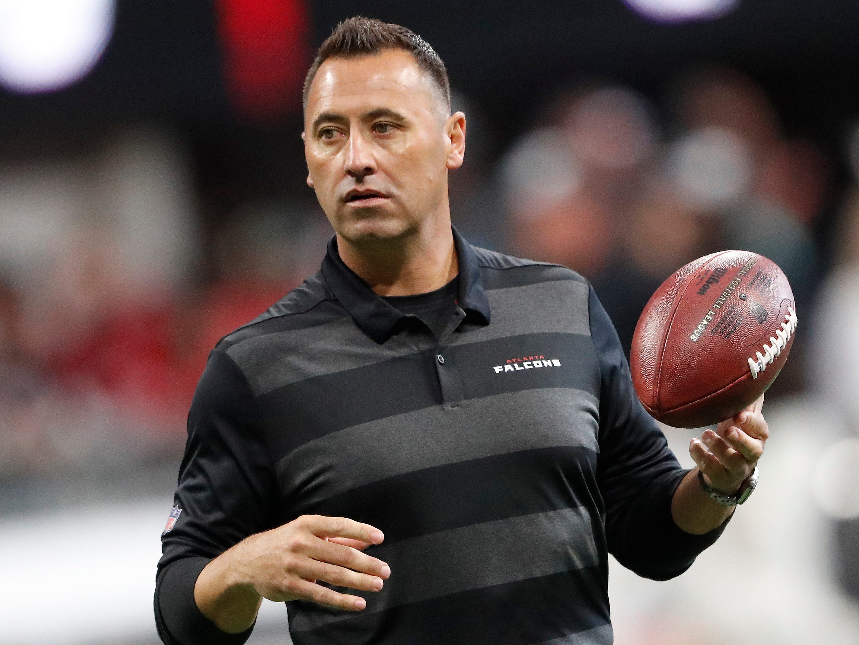 A look at Nathaniel Hackett, Steve Sarkisian, linked to Lions' offensive coordinator hunt
