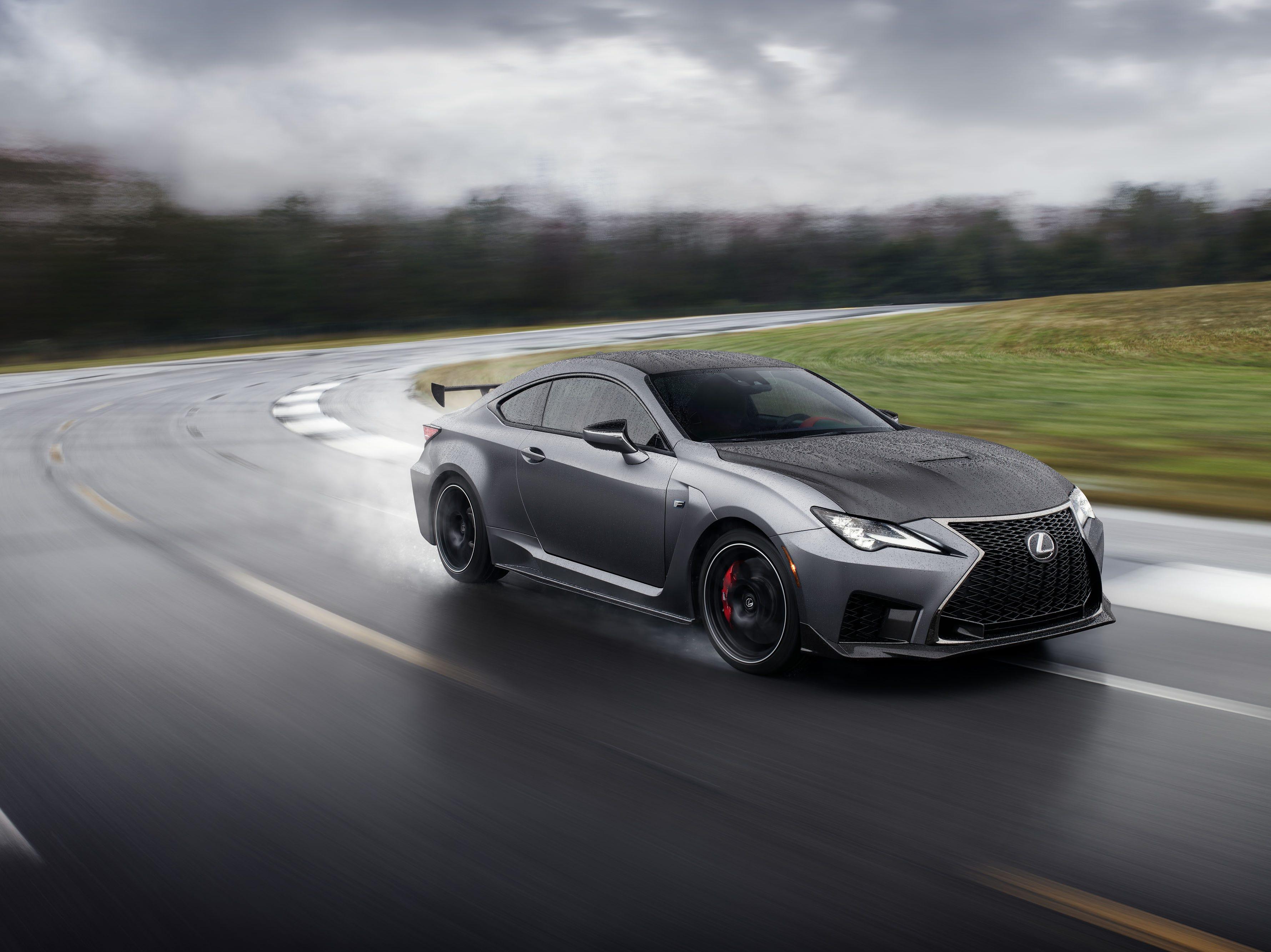 The 2020 Lexus RC-F Track Edition.