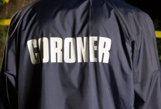 A coroner is shown in this file photo.