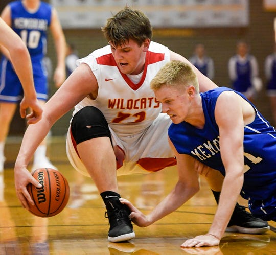Logan Carter (23) has helped lift Mater Dei to a 9-2 record and a No. 9 ranking in Class 2A.