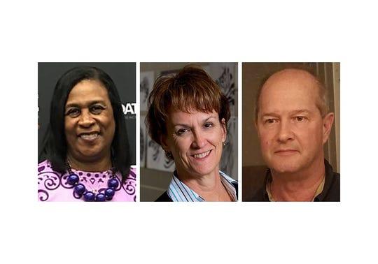 Karen Ragland, Ann Ennis and David Hollingsworth