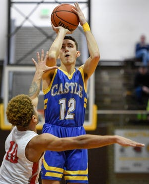 Castle's Alex Hemenway was named AP all-state on Monday.
