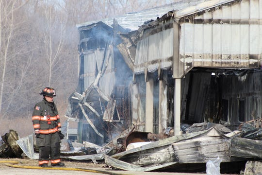 A Friday morning barn fired killed two ponies in Madison Township.