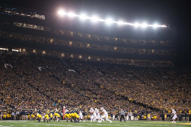 CSU's football team will play a game at 'The Big House' at Michigan in 2022. The Wolverines' Michigan Stadium in Ann Arbor has the largest seating capacity of a college football stadium in the country at 107,601.