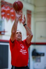 Former NBA player Brad Branson, 60, a 1976 North Fort Myers High School graduate, has returned home to support his former community. He teaches at North and is a girls basketball team assistant coach.