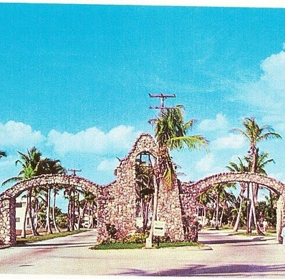 'It was what made us unique in that area.' Small, but mighty, group tackles plan to restore Fort Myers Beach arches