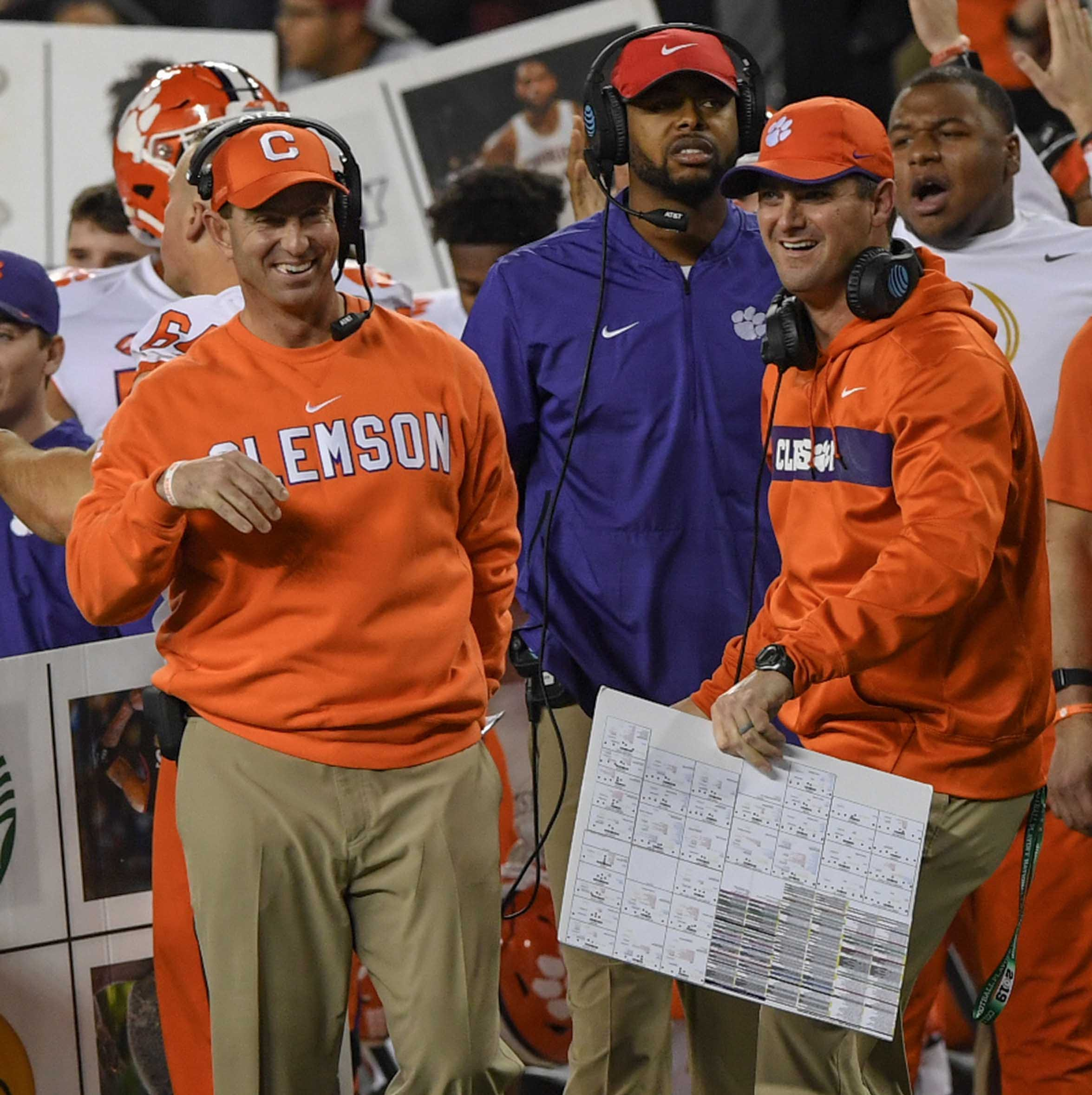 Clemson is already packed for another College Football Playoff trip