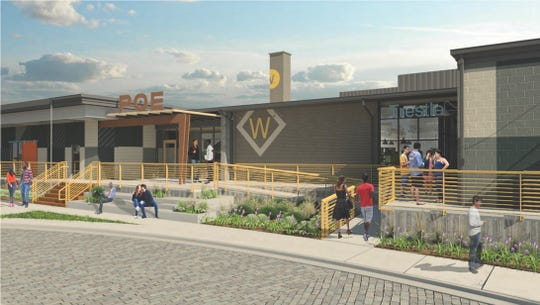 LaRue Fine Chocolate will open a cafe and retail shop in the Poe West development in the Village of West Greenville.