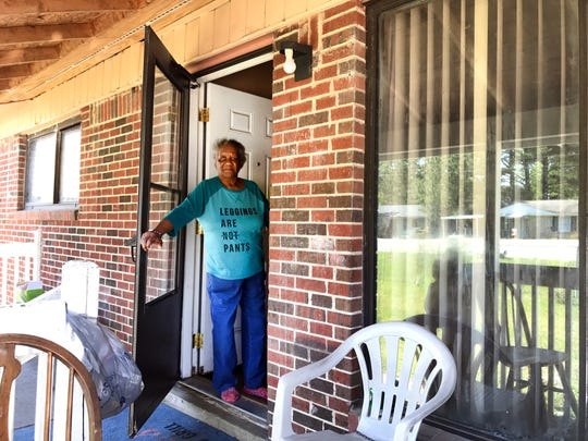 Columbia resident Rozina Javis kept her home despite attempts by authorities to seize it due to criminal activity nearby.