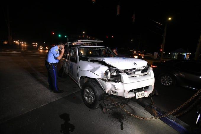 Two car crash in Mangilao near Price Elementary on January 11th, 2019.