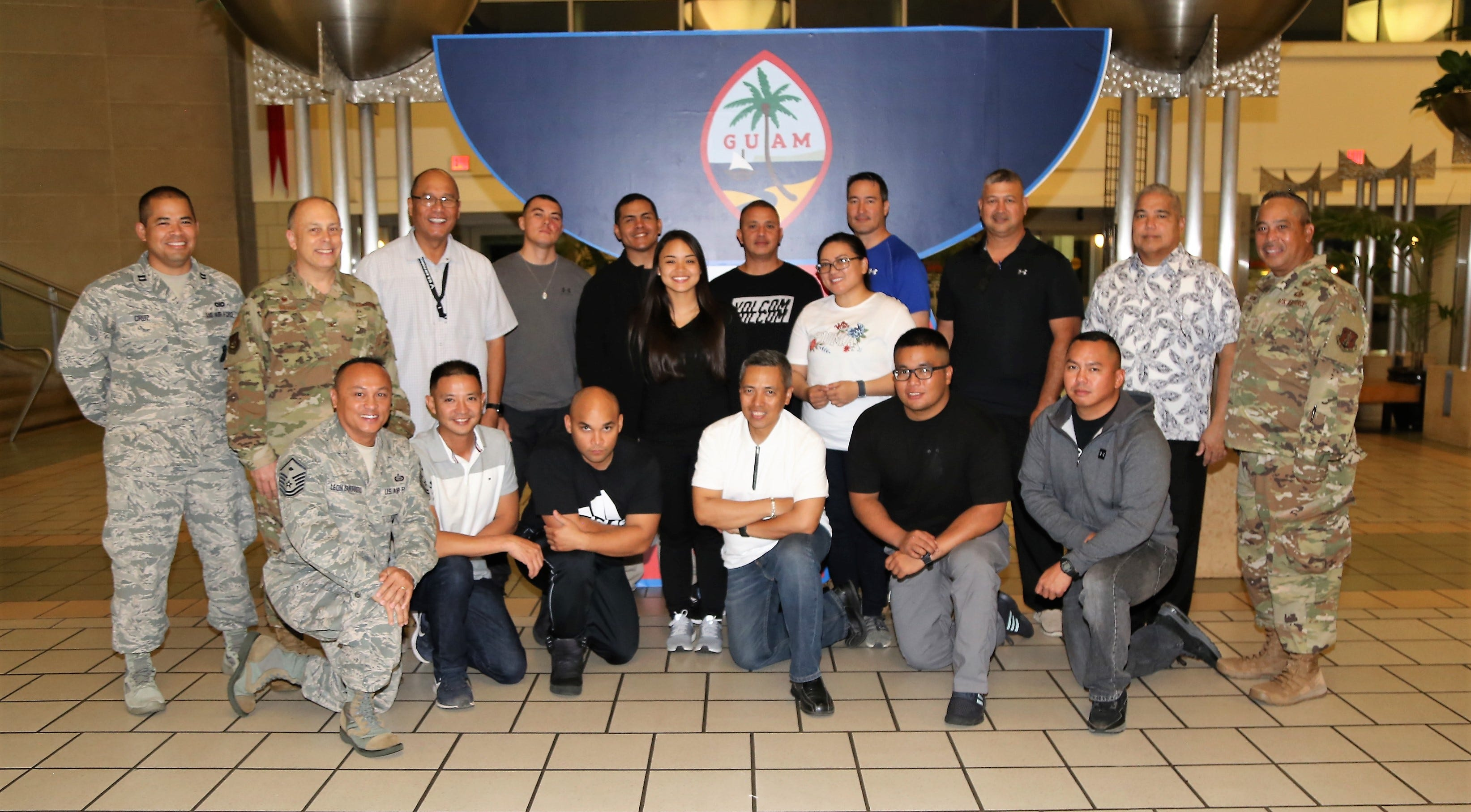 Guam Air National Guard airmen leave for deployment