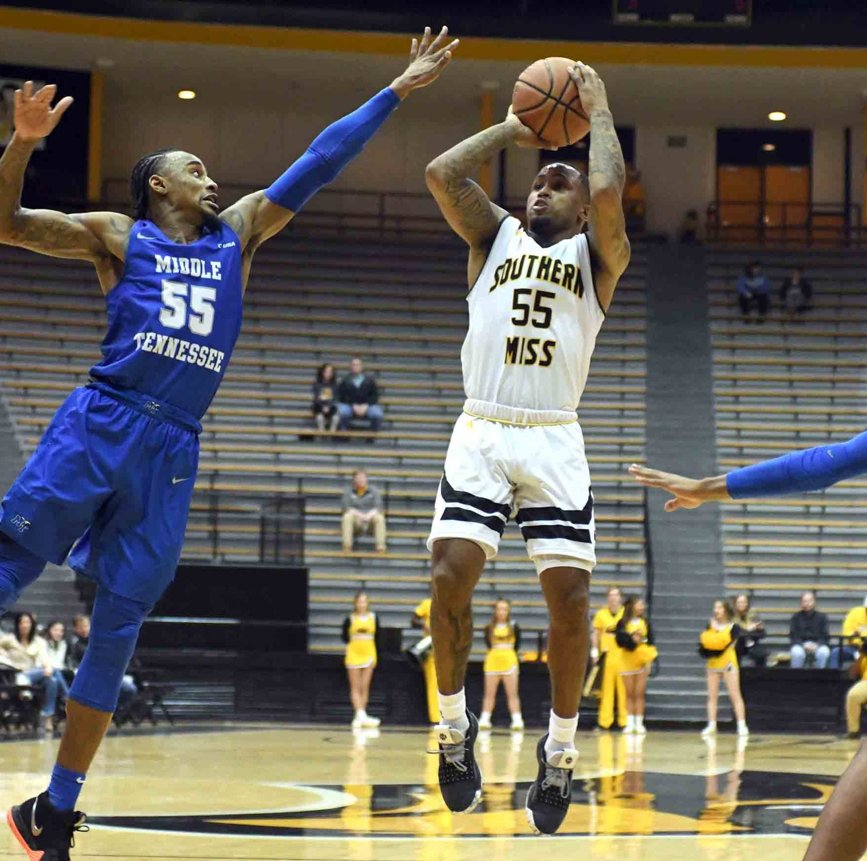 Southern Miss gets back on track with 77-70 win over Middle Tennessee
