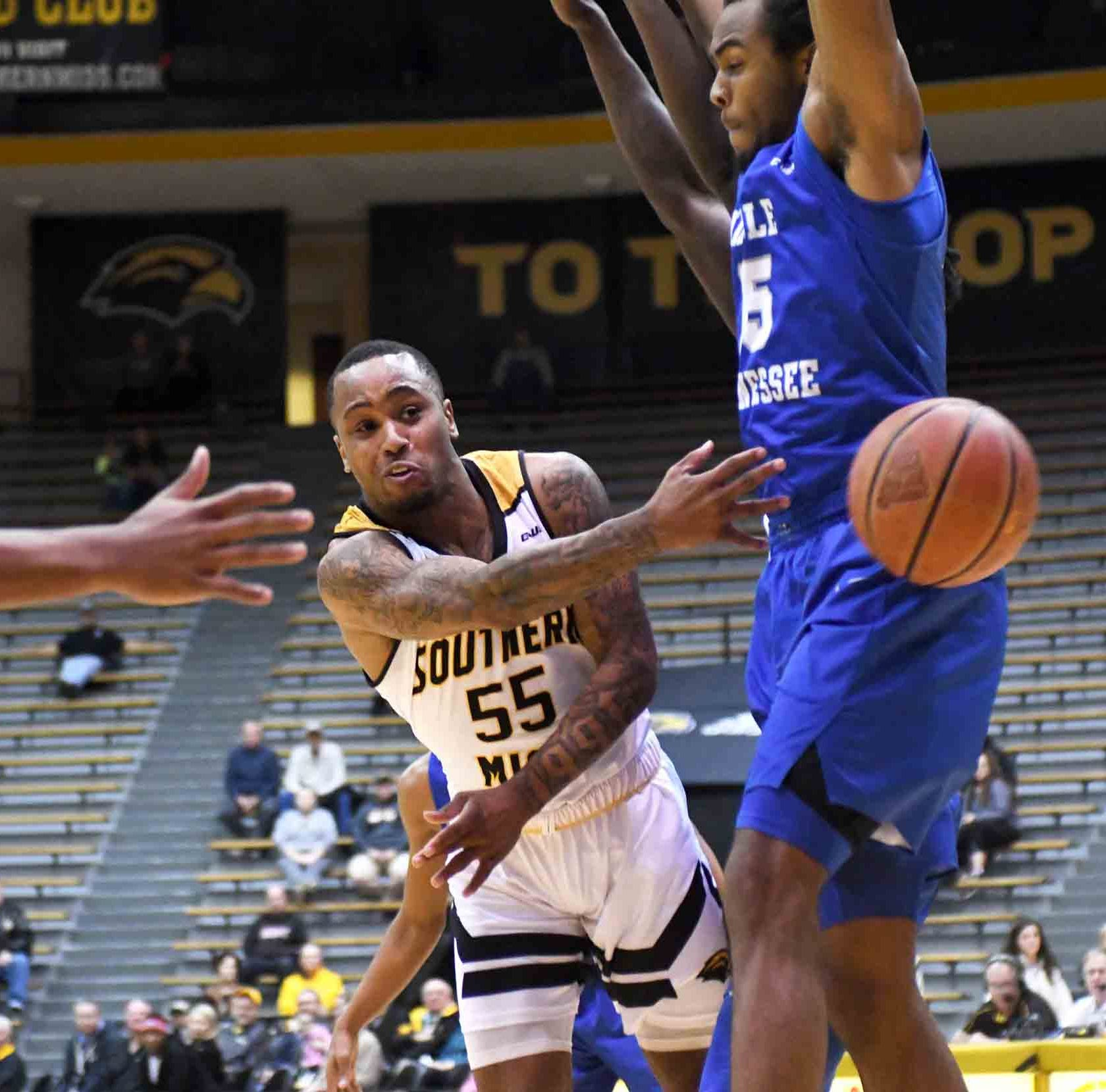 Golden Eagles' win streak snapped with 76-62 loss at Old Dominion