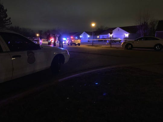 Indianapolis police investigated a shooting in the 6400 block of Winslow Drive on Jan. 10.