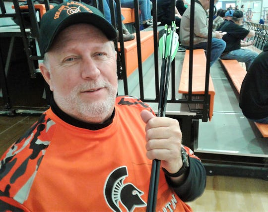 Gary Mechtensimer has been head coach for the successful Solon Spartan Archery Team since it was founded eight years ago.