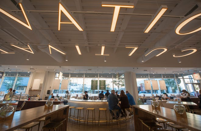Cultivation Food Hall in The District at Eastover opens Sunday, Jan. 13, 8 a.m. to 9 p.m., offering nine vendors and communal tables allowing everyone to choose their own food and drink while enjoying the environment together.