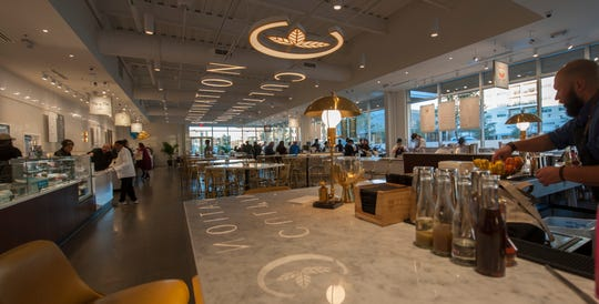 Cultivation Food Hall in The District at Eastover opens Sunday, Jan. 13, 8 a.m. to 9 p.m. offering nine vendors and communal tables allowing everyone to choose their own food and drink while enjoying the environment together.