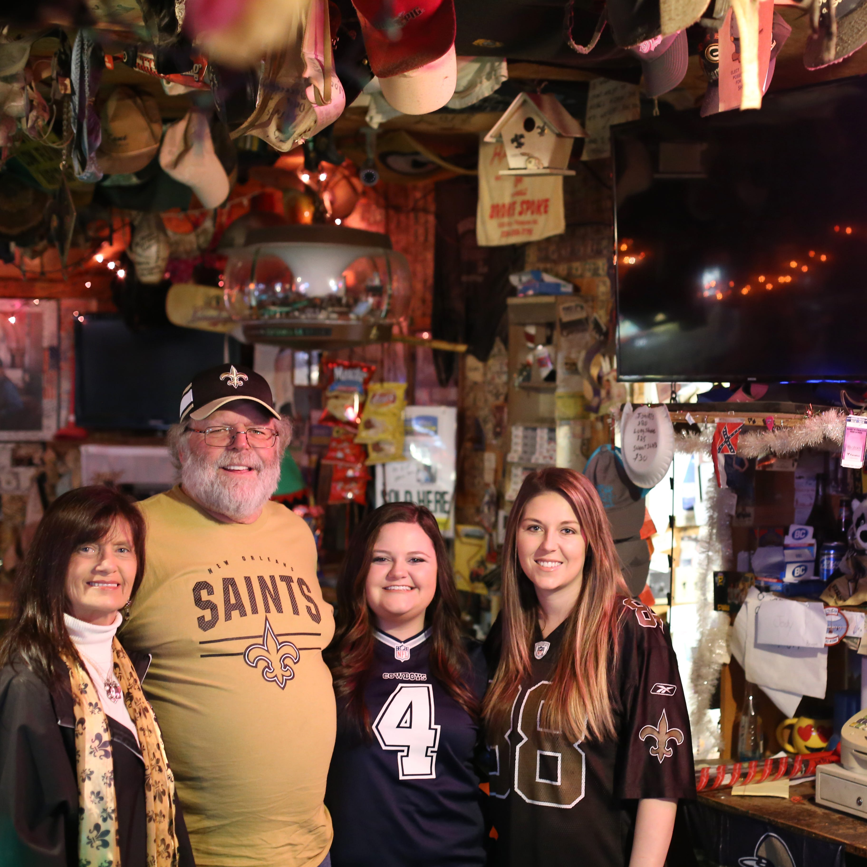 A biker bar, Brett Favre and the Who Dat Nation: Football is life in this rural Miss. town