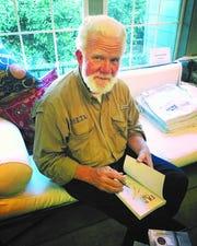 Greenville, Mississippi, native and author Hank Burdine