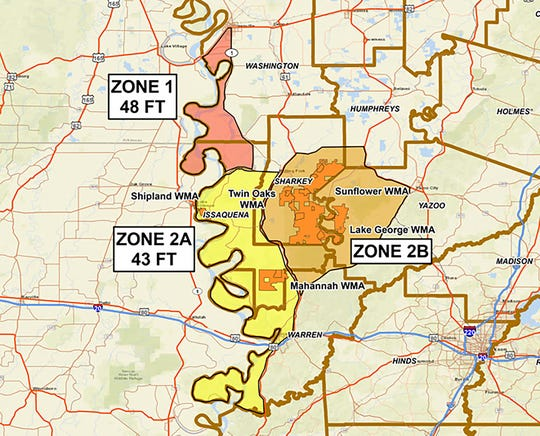 Zone 2B is closed to all hunting except waterfowl and Zone 2A is expected to follow this week.