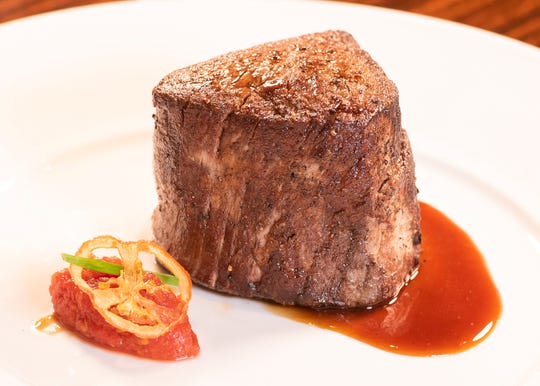 Menu items at BR Prime are ala carte, with the restaurant's famed steaks starting at $42 for the six-ounce filet.