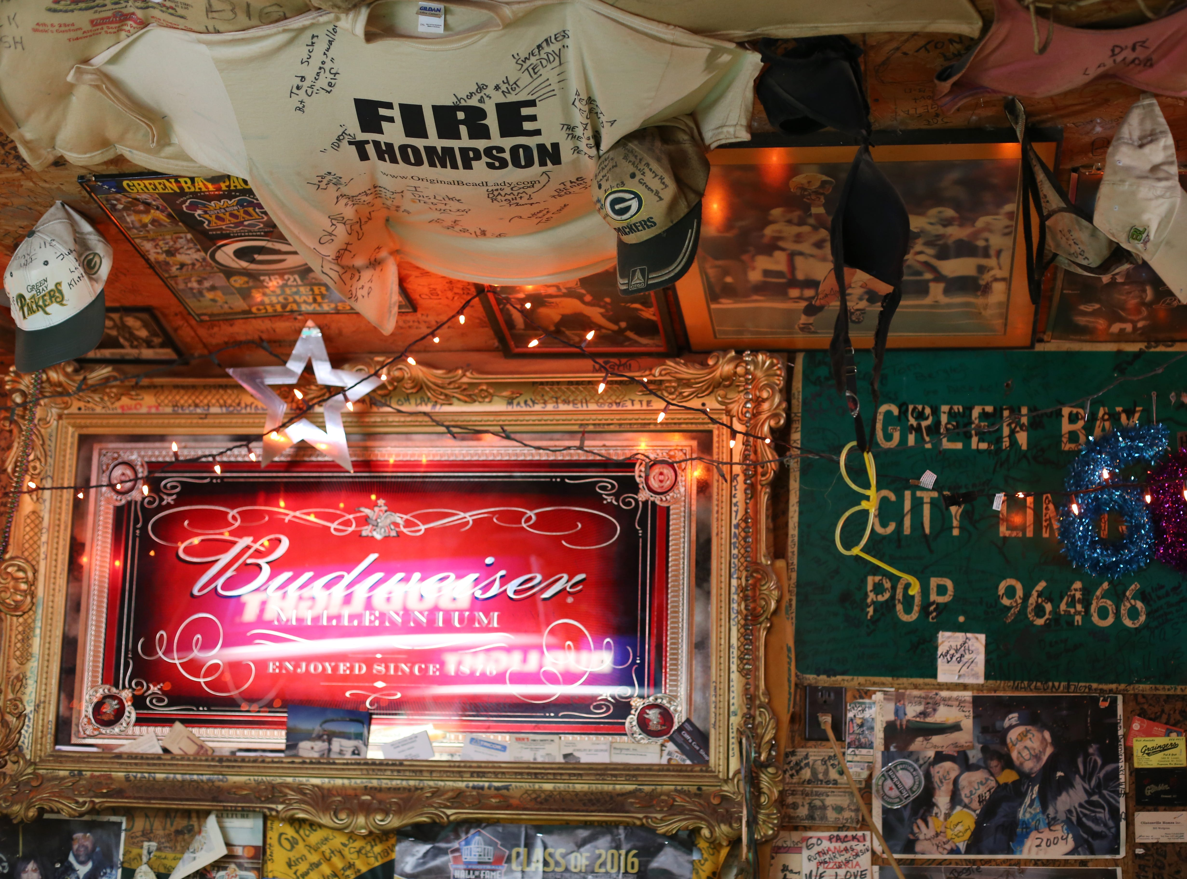 When The Broke Spoke caught fire in 1999, the only thing owner Stevie Haas could salvage was the Green Bay, Wisconsin, city limit sign.