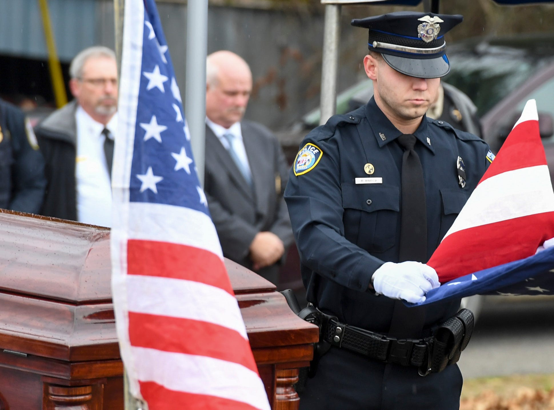 The Celebration of Life service for Assistant Alamo Police Chief Phillip Harold Park was held at Alamo First Christian Church, Friday, Jan. 11, 2019.