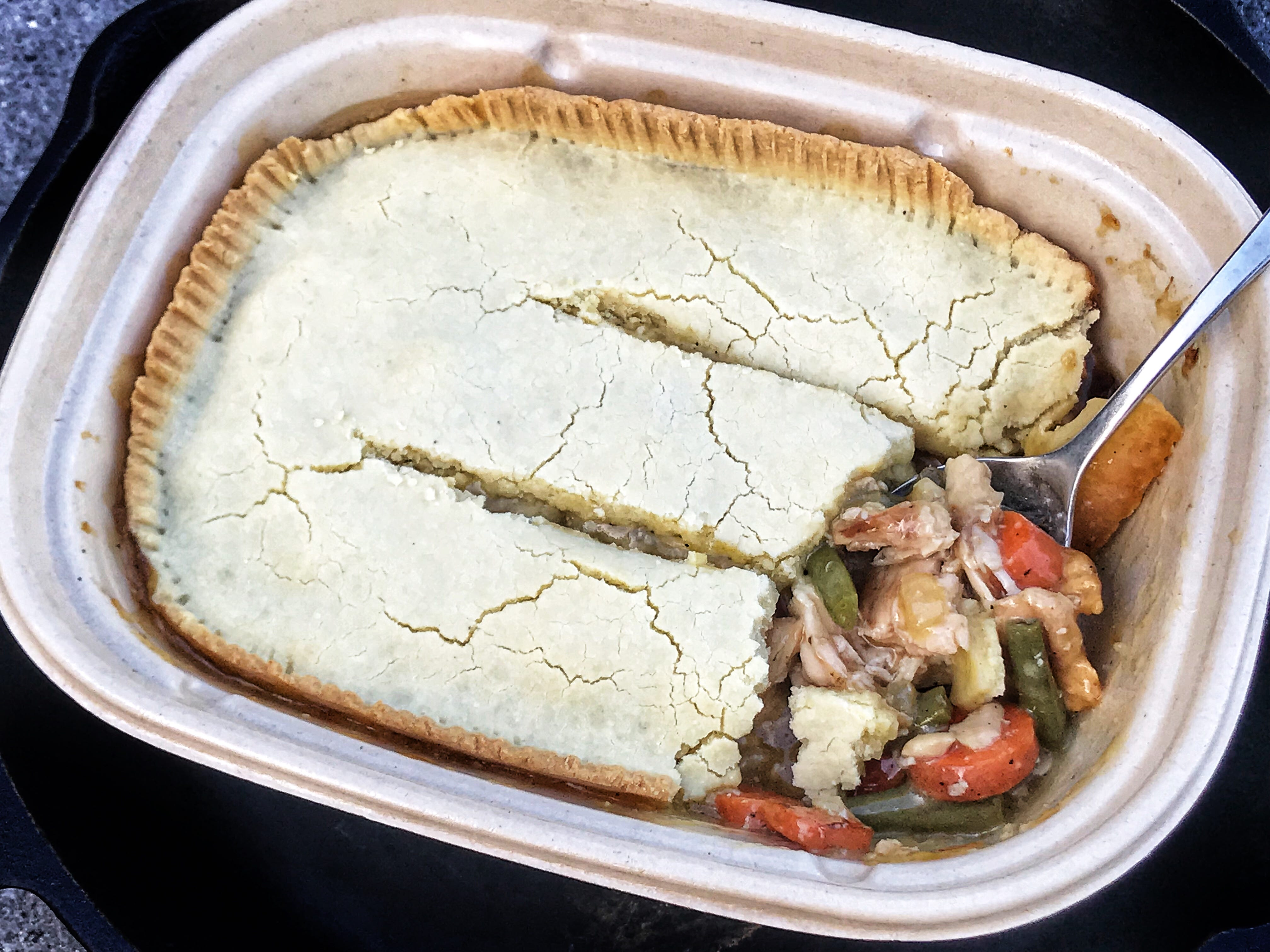 Fittest Kitchen has launched a meal prep service, which includes menu items like the chicken pot pie with handmade Fittest Kitchen pie crust.