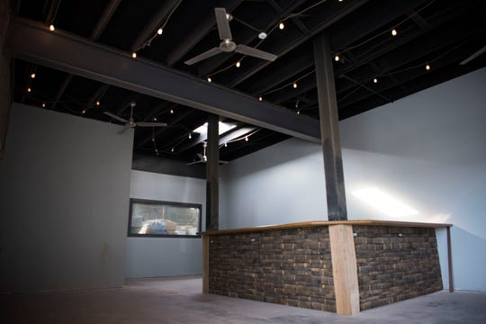A photo of Fanatic Brewing's new tap room at their existing facility on North Central Street in Knoxville, Friday, Jan. 11, 2019. Owner Marty Velas hopes the tap room will open by this spring.