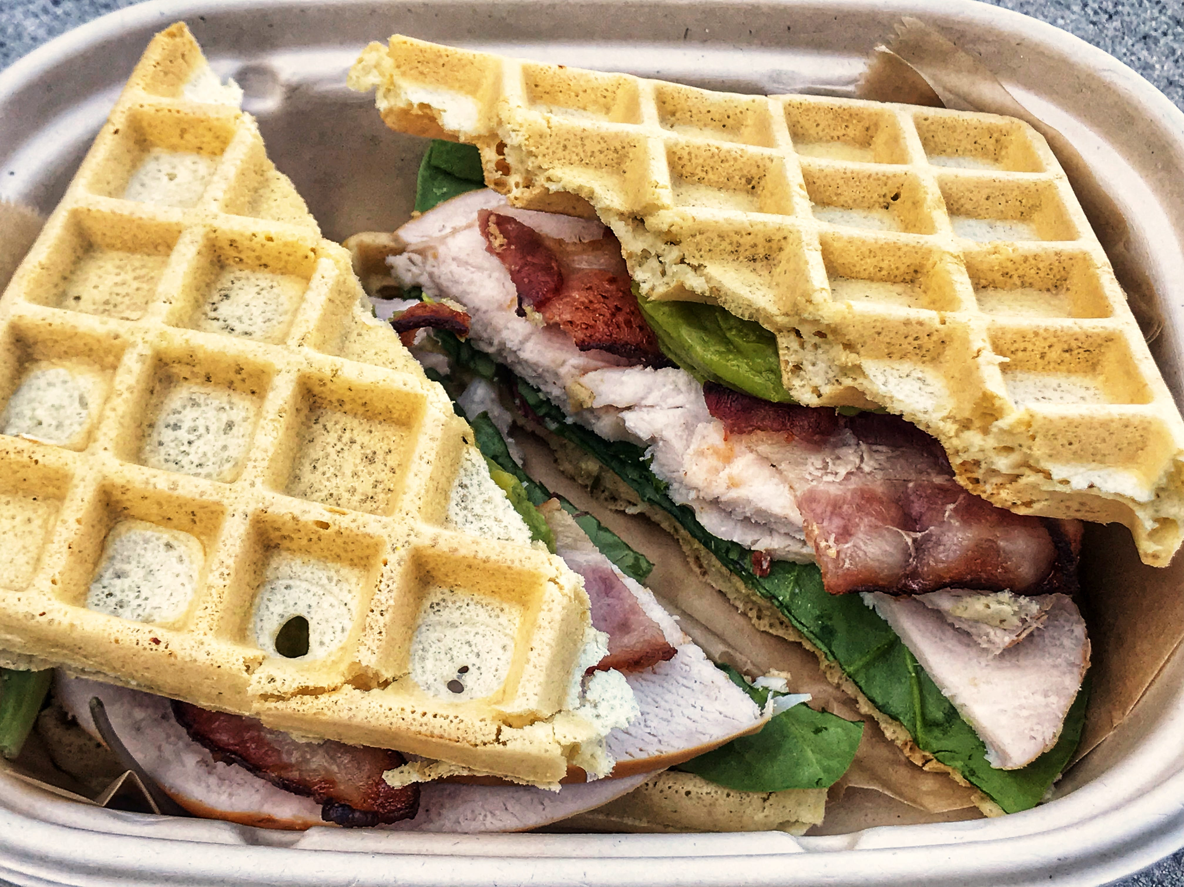 Fittest Kitchen has launched a meal prep service, which includes menu items like the turkey, bacon and avocado sandwich.
