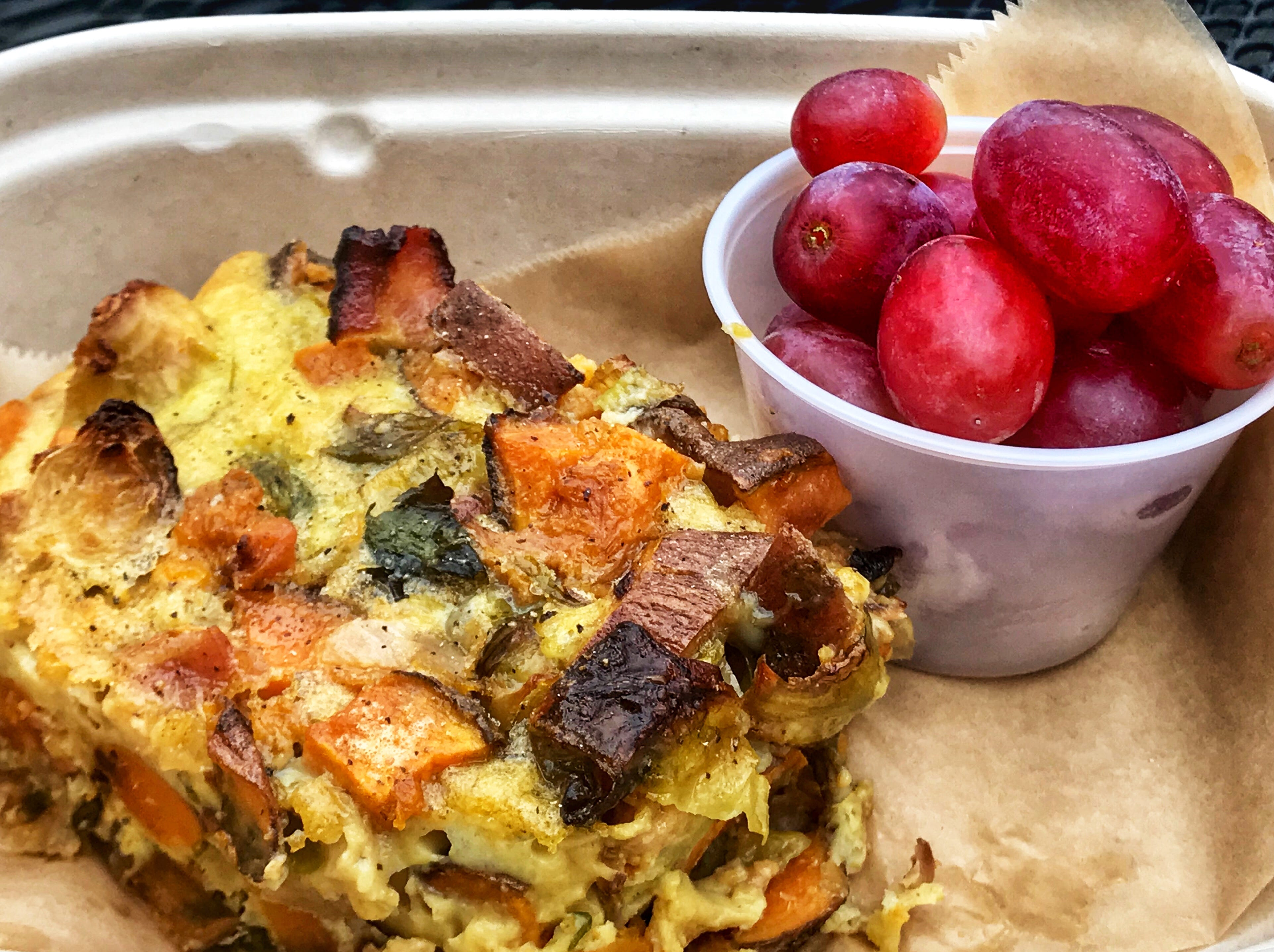 Fittest Kitchen has launched a meal prep service, which includes menu items like the breakfast casserole.