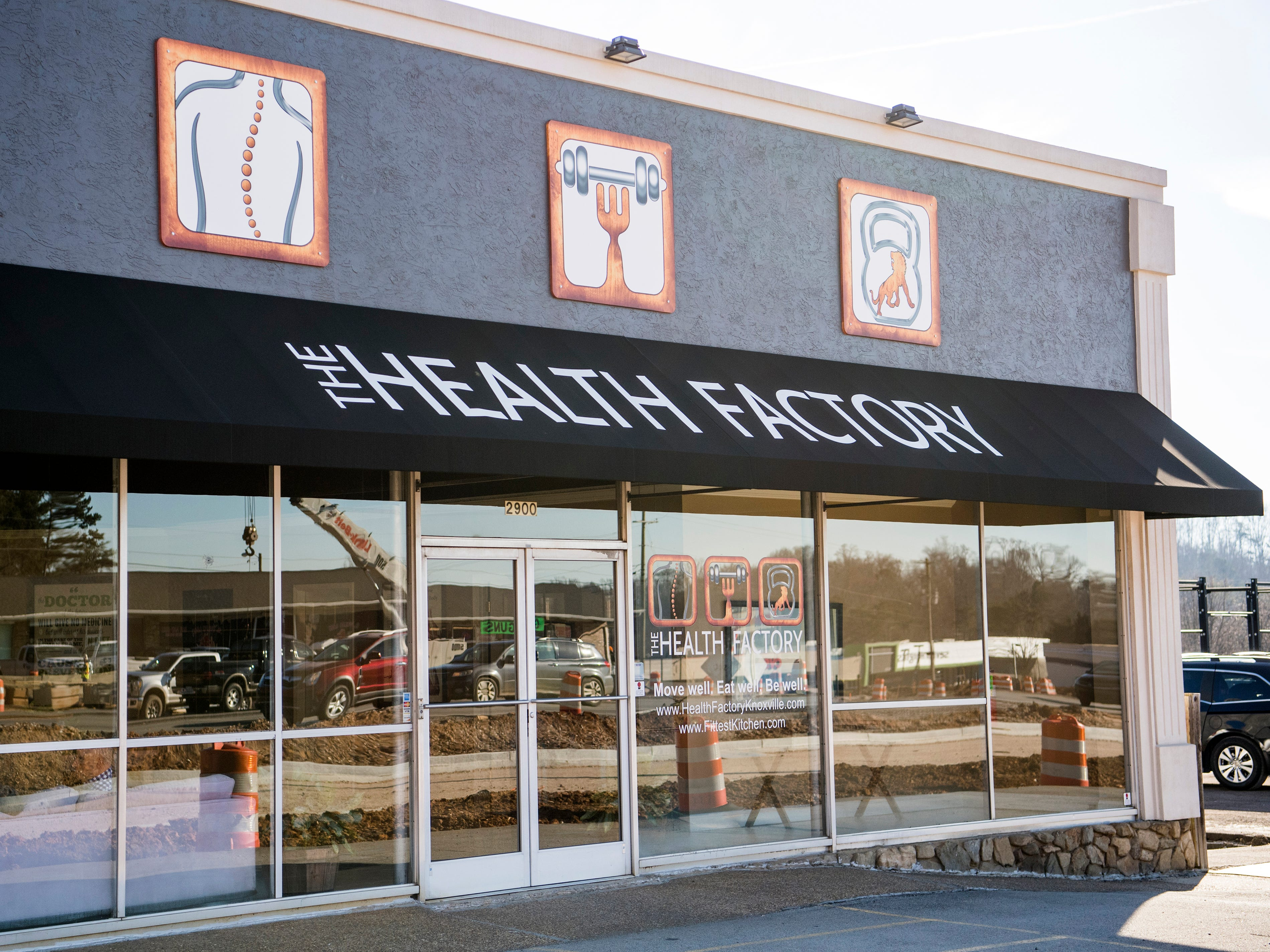 Fittest Kitchen is located inside The Health Factory on Alcoa Highway in Knoxville.