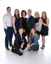 The Lewis family from front left includes Bobby Lewis III, 12, Hannah Lewis, 14; back, son-in-law Parker Lievsay, daughter Heather Lewis Lievsay, wife Cindy, Dr. Bobby Lewis, mother Nancy Lewis, and Holly Lewis, 18.
