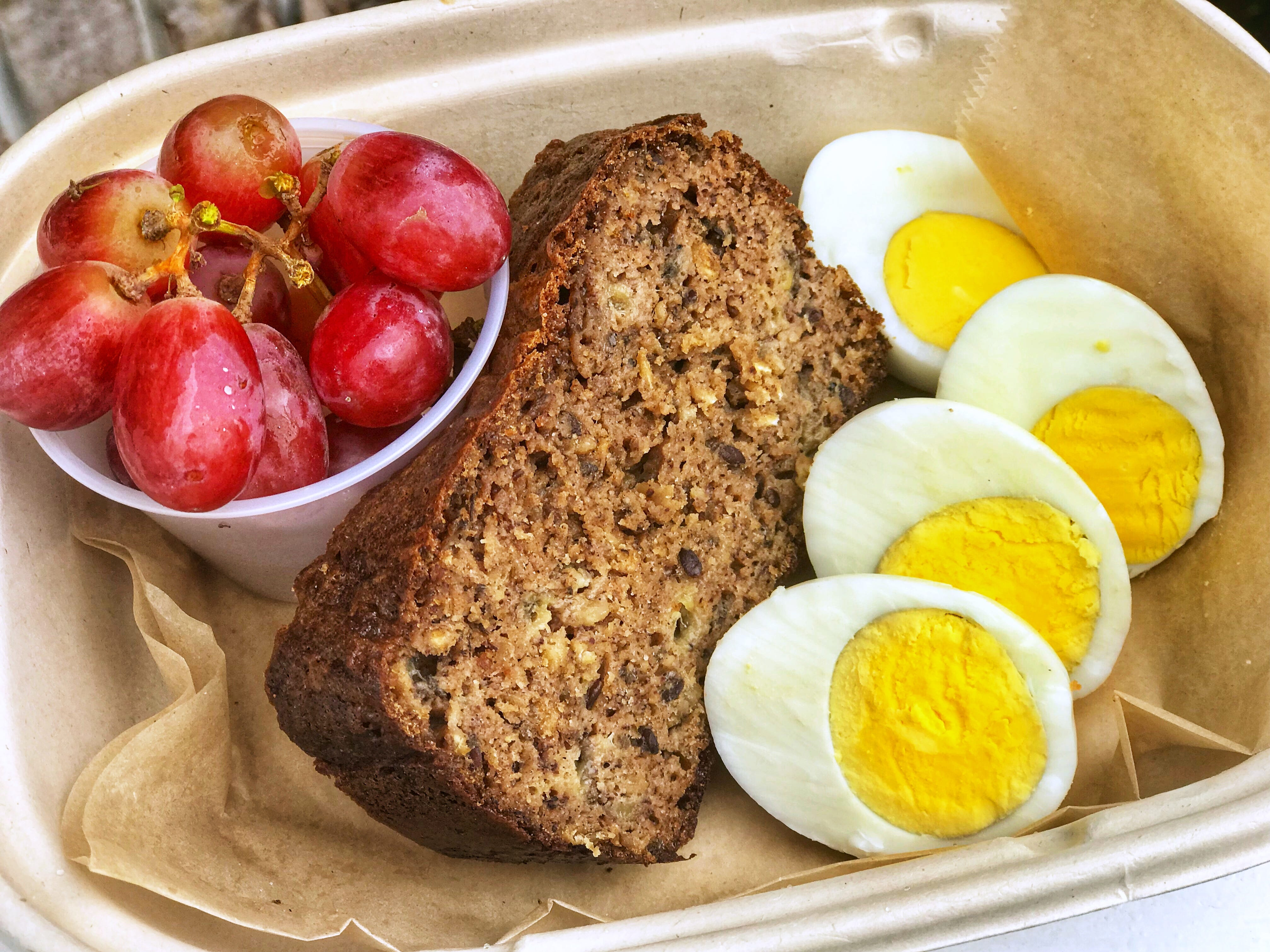 Fittest Kitchen has launched a meal prep service, which includes menu items like the banana bread.
