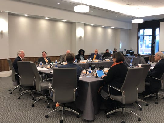 The advisory board met for the first time since being created last year at the University of Tennessee, Knoxville, on Friday, Jan. 11, 2018.