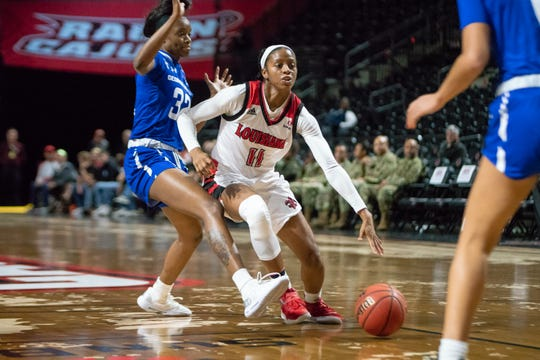 UL sophomore guard Skyler Goodwin and the Cajuns will be hosting Georgia Southern at 2 p.m. Saturday. It was against Georgia Southern that Goodwin had her career-high 28 points against in last year's Sun Belt Conference Tournament.