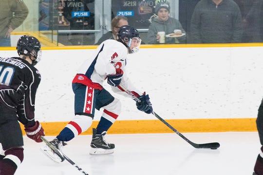 759ee19e97b Prep hockey  Cameron VanTighem making big mark for Capital City