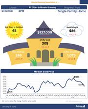 2018 Lansing Statistics  infographic