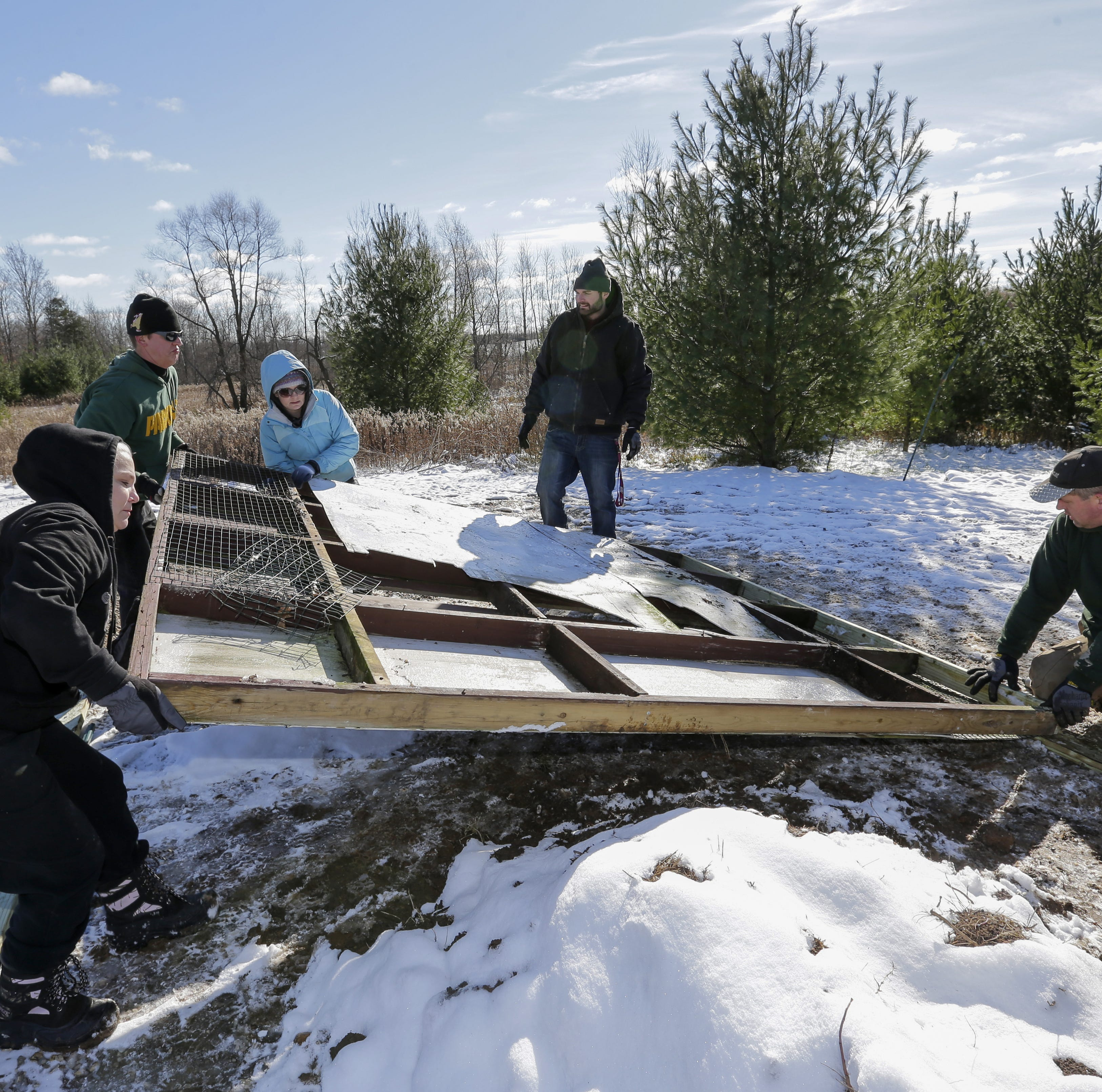 Manitowoc drug court participants work toward recovery while helping wildlife recover