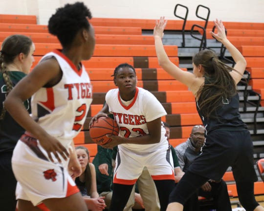 Mansfield Senior's JayJahnae Feagin leads the Lady Tygers into four games in five days for a crucial stretch in their season.