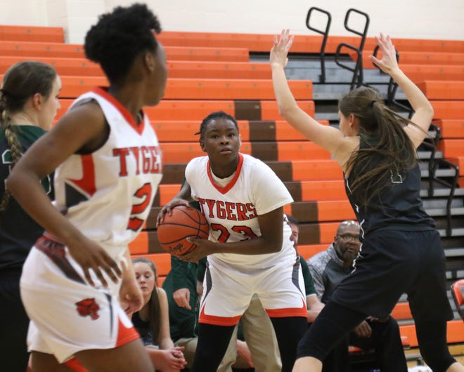 Mansfield Senior's JayJahnae Feagin grabbed 22 rebounds while scoring 17 points in a win over Ashland last week for one of the most impressive double-double's of the year.
